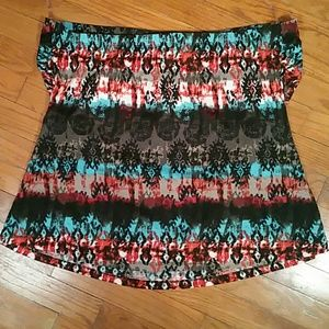 Maurices Tops - Maurices Sleeveless Aztec Blouse